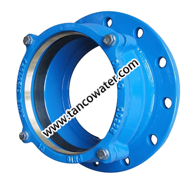 Flange adaptor for PE pipe